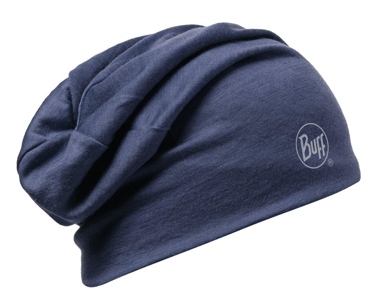 Шапка BUFF WOOL SOLID DENIM Банданы и шарфы Buff ® 1169255  - купить со скидкой