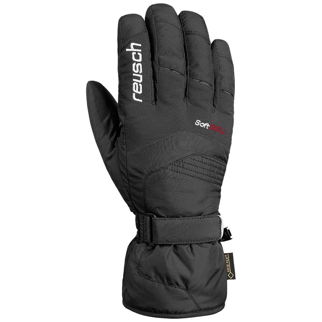 женские перчатки reusch, черные