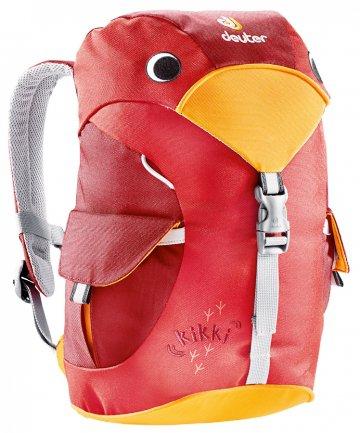 Купить Рюкзак Deuter Family Kikki fire-cranberry Рюкзаки детские 1073039