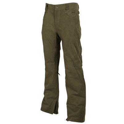 Купить Брюки сноубордические RIPZONE 2013-14 PANTS STUDIO PANT - SLIM FIT Olive Pigment Dyed Одежда сноубордическая 1024108