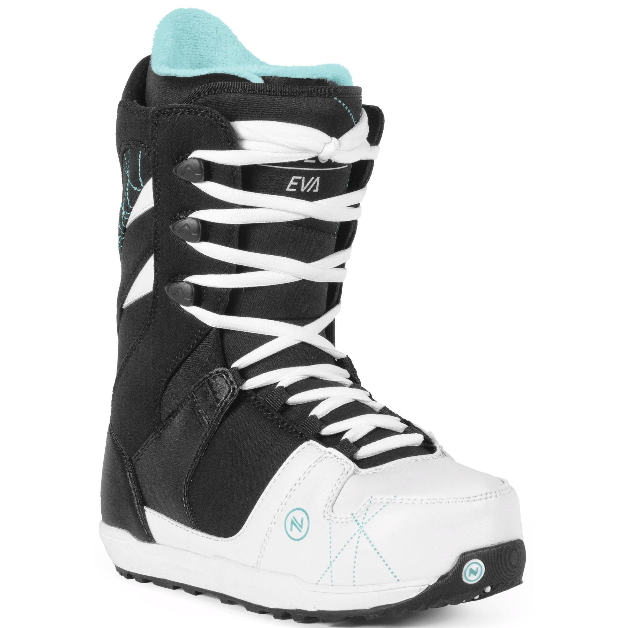 92fc54e8d400 Ботинки для сноуборда NIDECKER 2017-18 EVA LACE BLACK - купить ...