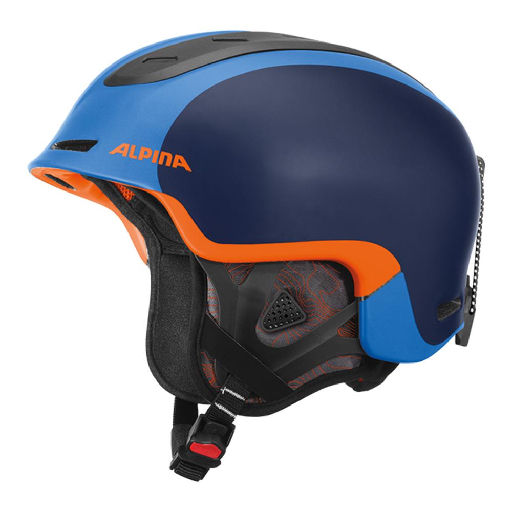 Шлемы для горных лыж оранжевый