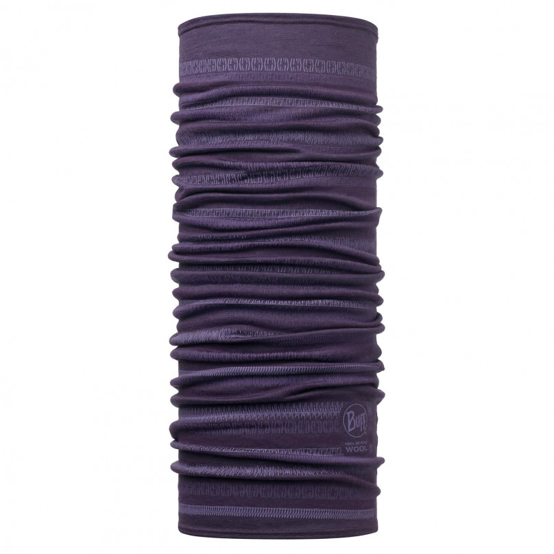 Купить Шарф BUFF Wool Patterned & Dyed Stripes MERINO WOOL LISHA PLUM Банданы и шарфы Buff ® 1263374