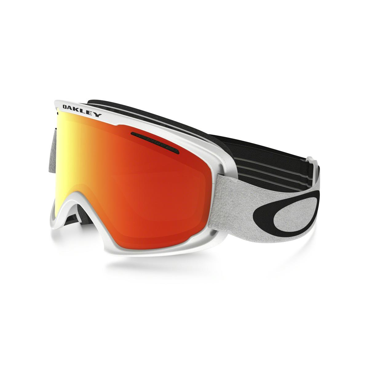 Купить Очки горнолыжные Oakley O2 XM MATTE WHITE/FIRE IRIDIUM/, горнолыжные, 1293326