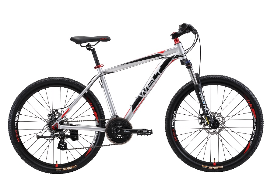 Велосипед Welt Ridge 2.0 D 2017 Silver/red