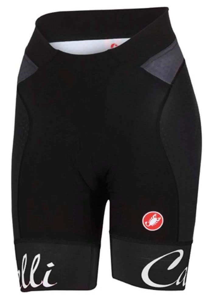 Купить Велотрусы Castelli 2018 FREE AERO W SHORT black, Велоодежда, 1413468
