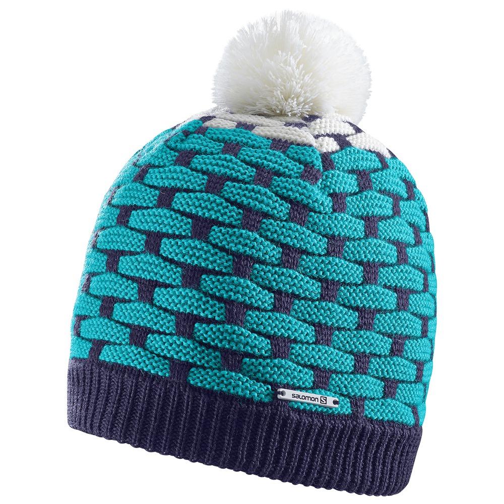женская шапка salomon