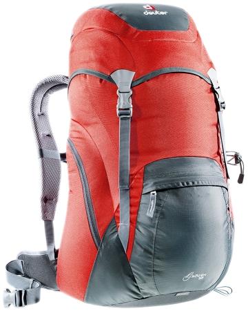 Купить Рюкзак Deuter 2015 Aircomfort Classic Groden 35 granite-fire Рюкзаки туристические 1147328