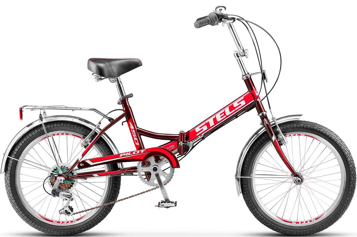 Купить Велосипед Stels Pilot 450 20 2018 red, Складные велосипеды, 1411318