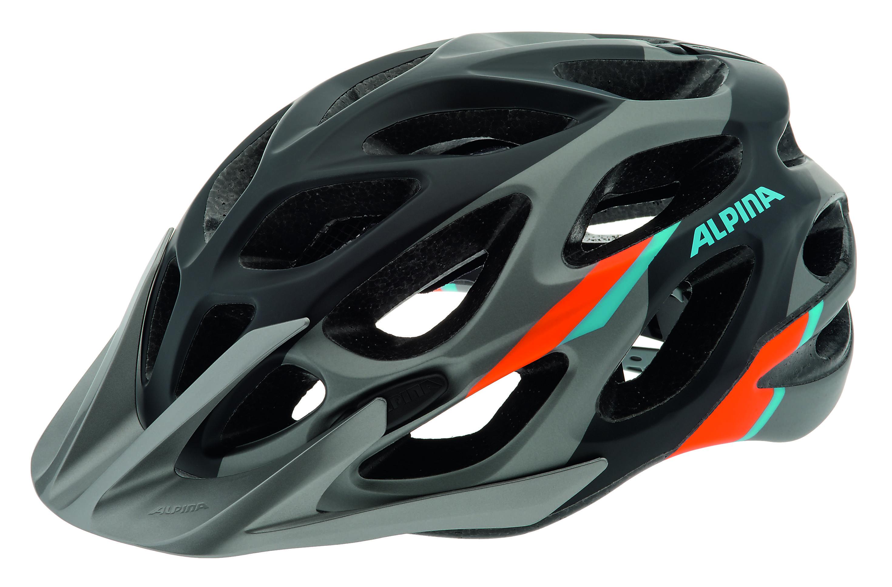 Купить Летний шлем Alpina MTB Mythos 2.0 LE darksilver-blue-orange, Шлемы велосипедные, 1179917