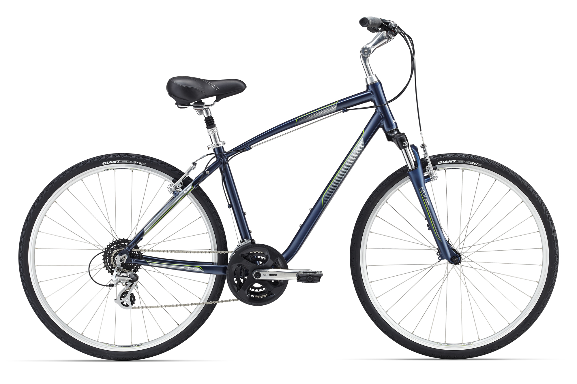 Купить Велосипед Giant Cypress DX 2016 Dark Gray / Темно Серый, Комфортные, 1262233