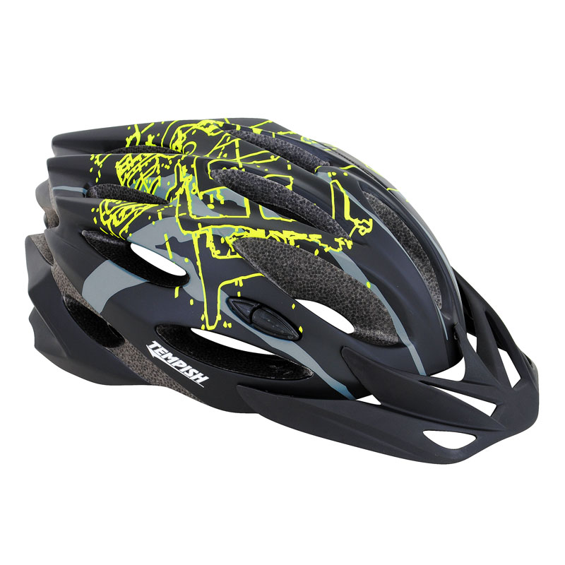 Купить Летний шлем TEMPISH 2016 STYLE Чёрный, Шлемы велосипедные, 1178556
