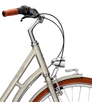 Велосипед Kalkhoff City Classic 7R 2018 Silvergrey