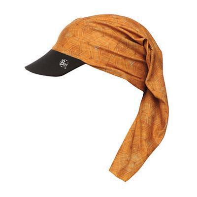 Бандана BUFF VISOR HEXAGON ORANGE Банданы и шарфы Buff ® 763492  - купить со скидкой