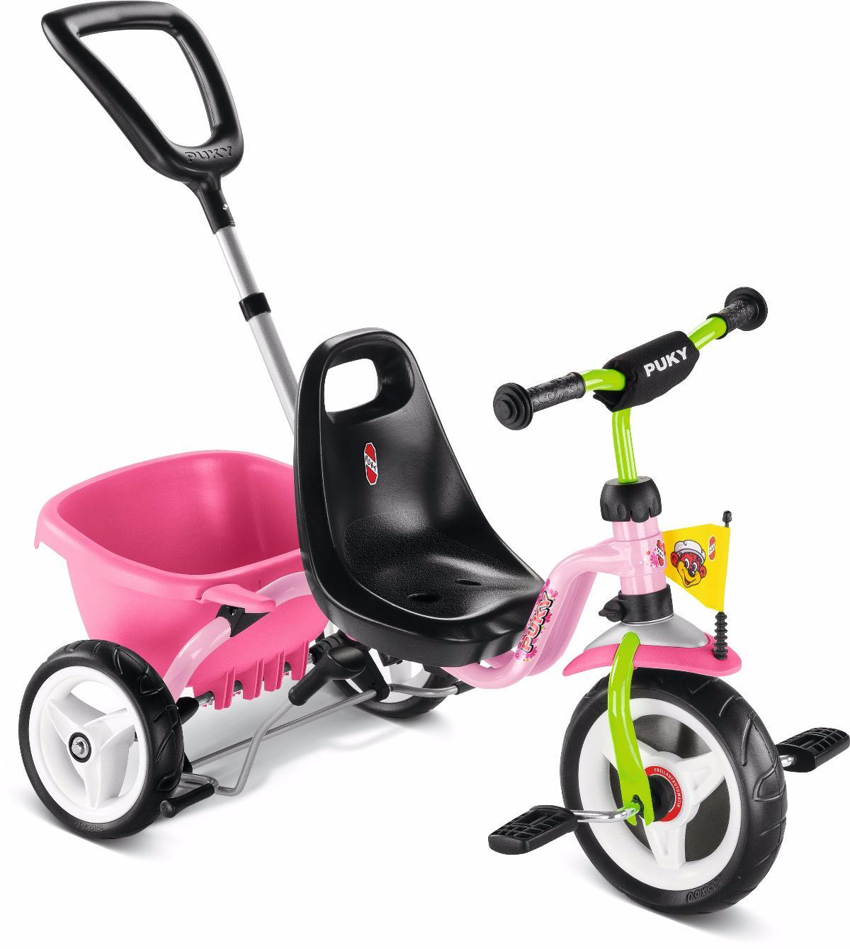 Велосипед Трехколесный Puky 2016 Cat 1 S Pink/kiwi