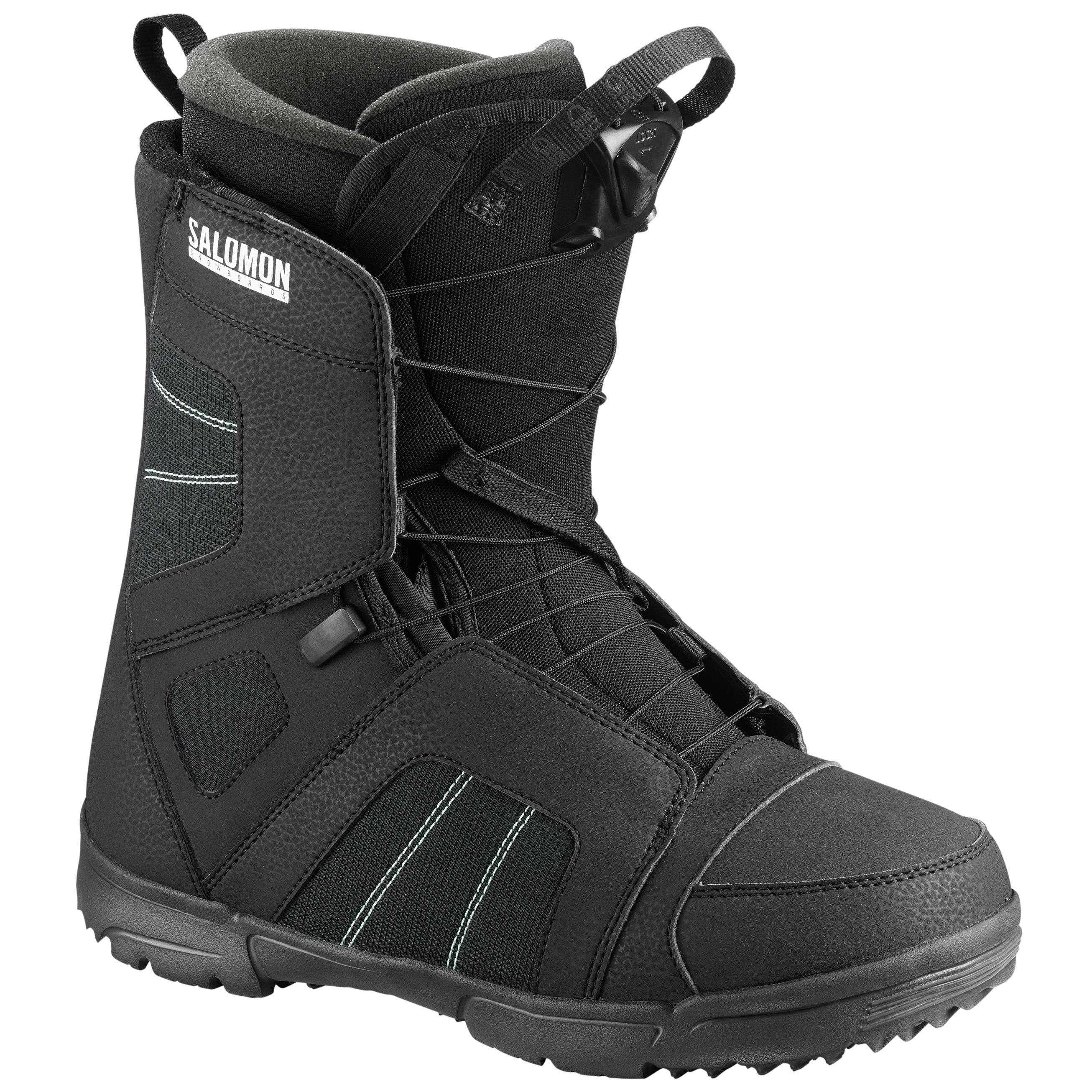 Ботинки для сноуборда Salomon 2018-19 TITAN Black - купить недорого ... dd2759f272e
