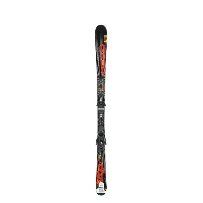 Купить Горные лыжи с креплениями HEAD 2012-13 REV 75 PR+PR 11, лыжи, 814377