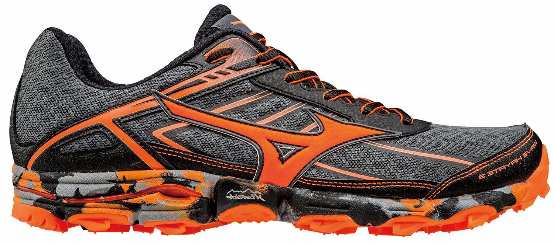 Беговые кроссовки для XC Mizuno 2017 WAVE HAYATE 3 т.серый/оранжевый/черный / Кроссовки бега 1334611  - купить со скидкой