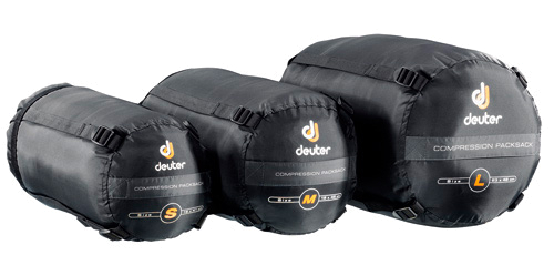 Мешок компрессионный Deuter 2015 Sleeping Bags Compression Packsack M black