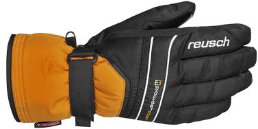 Перчатки горные REUSCH 2012-13 Reusch Powderstar R-TEX XT orange popcicle/black, Перчатки, варежки, 855500  - купить со скидкой