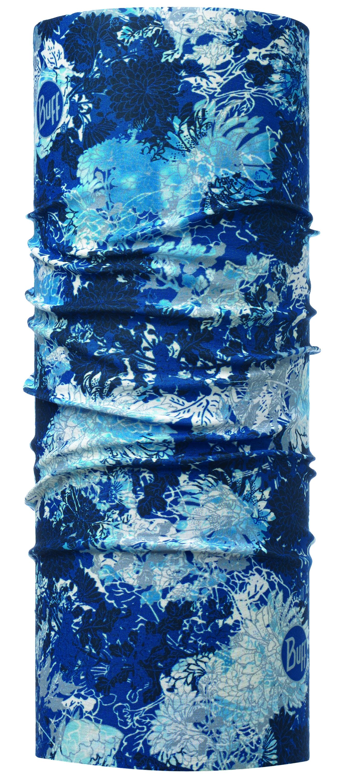 Купить Бандана BUFF ORIGINAL SLIM FIT WINTER GARDEN BLUE Банданы и шарфы Buff ® 1307912