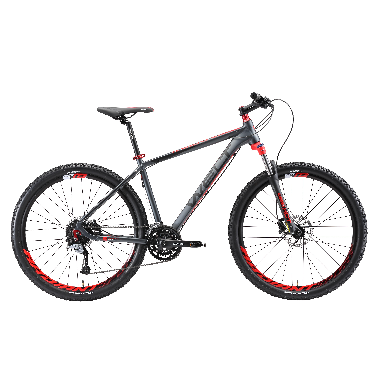 Велосипед Welt 2018 Rockfall 2.0 Matt Grey/red