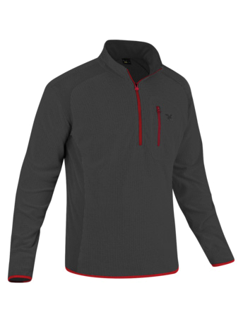 Флис туристический Salewa PARTNER PROGRAM MEN *BABBOA PL M PULLI carbon/1600