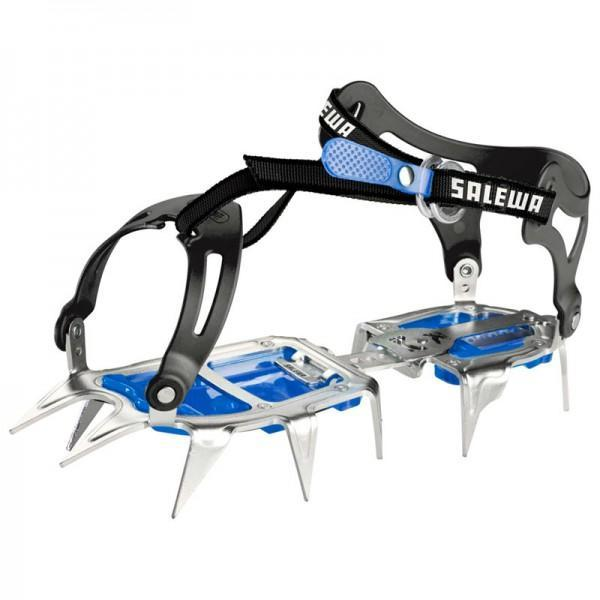 Купить Кошки Salewa ALPINIST WALK STEEL/BLUE, альпинистские, 1006966