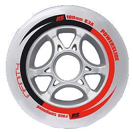 Купить Колеса Powerslide INFINITY (84mm/85A(8st)+spacer(8st)+ABEC 5(16st)), Аксессуары для роликов, 562191