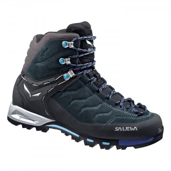 Купить Ботинки для альпинизма Salewa 2015 Alpine Approach WS MTN TRAINER MID GTX Carbon/River Blue / Альпинистская обувь 1157754