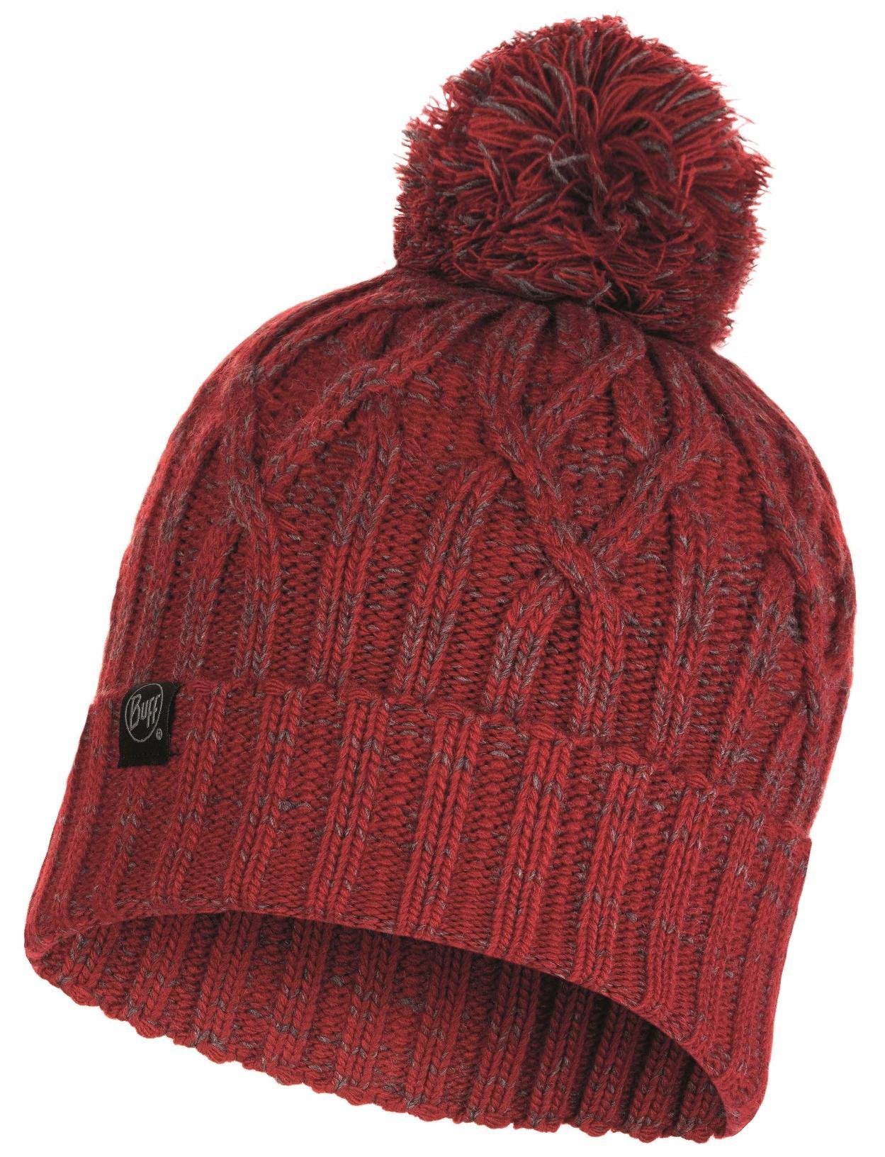Шапка Buff Knitted & Polar Hat Idun Red