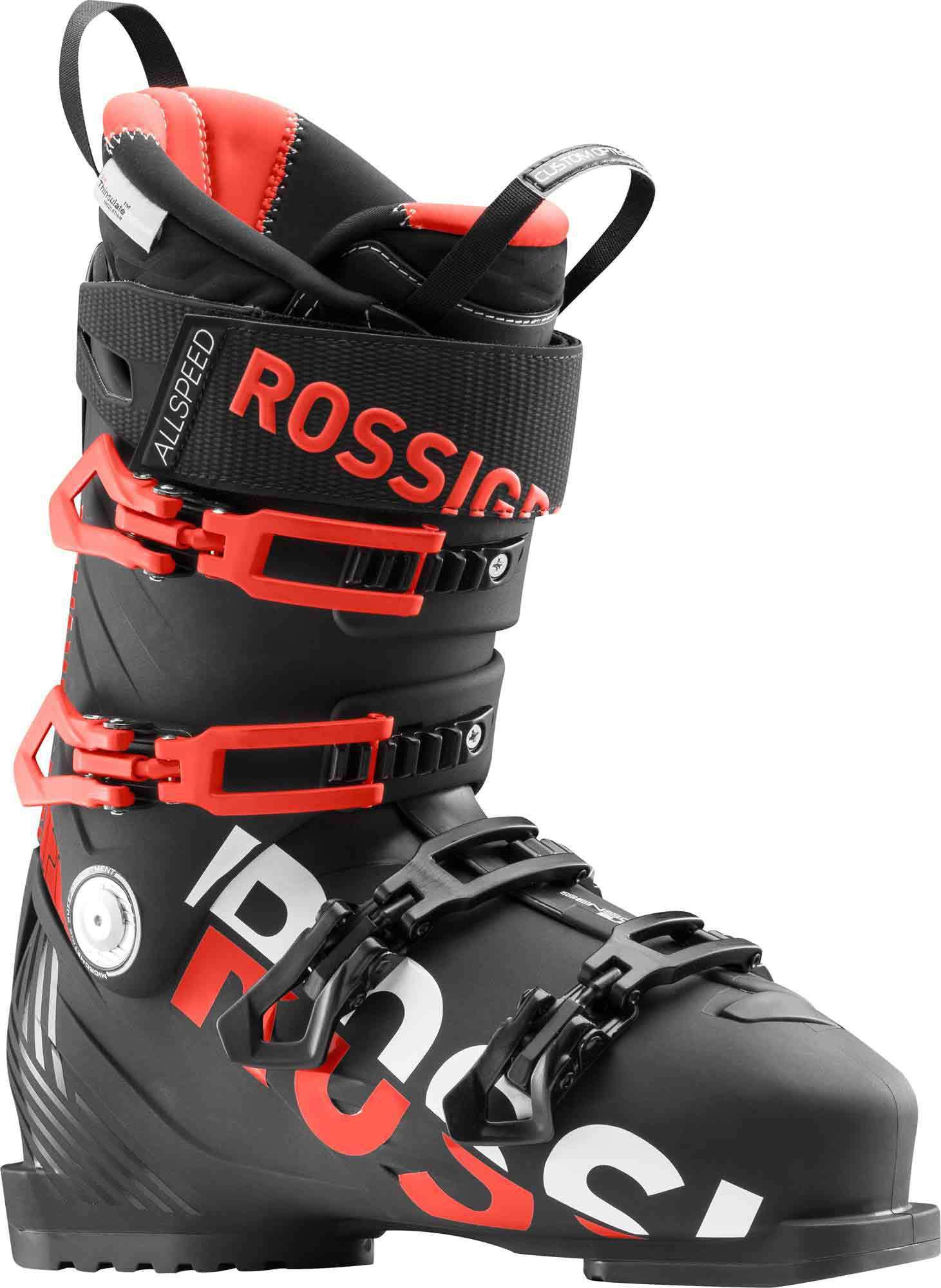 Купить Горнолыжные ботинки ROSSIGNOL 2017-18 ALLSPEED PRO 120 BLACK, Ботинки горнoлыжные, 1363770