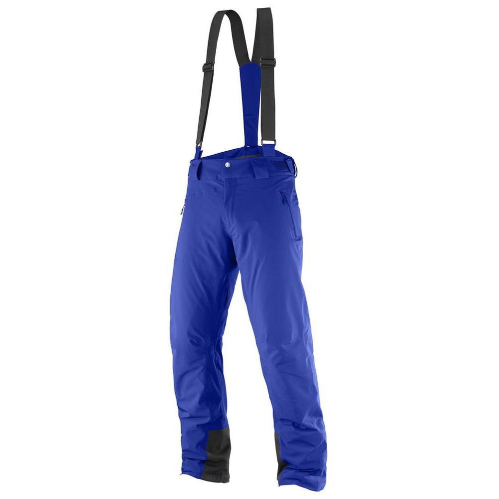 Купить Брюки горнолыжные SALOMON 2017-18 ICEGLORY PANT M Surf Web, Одежда горнолыжная, 1371875