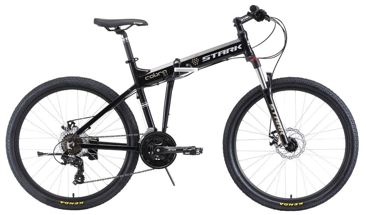 Купить Велосипед Stark Cobra 26.2 D 2018 black/gray/white, Складные велосипеды, 1409841