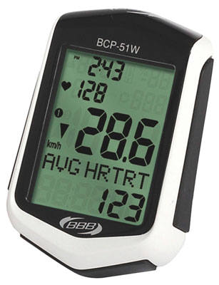 Компьютер BBB DigiBoard heart rate white (BCP-51WH)