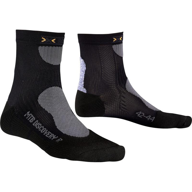 Купить Носки X-Bionic 2017 X-SOCKS MOUNTAIN BIKING DISCOVERY Черный, Носки, 1277654