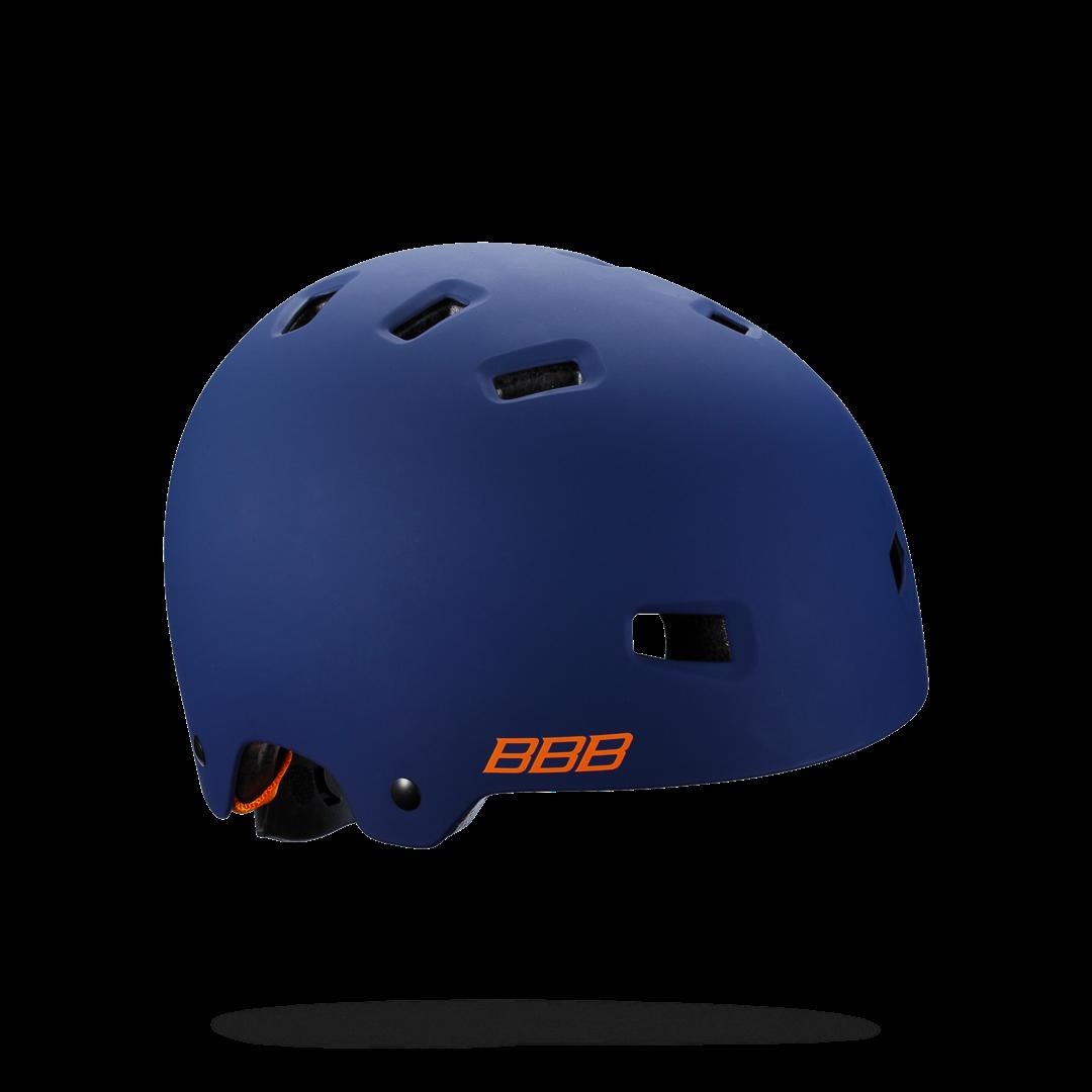 Купить Велошлем BBB 2018 Billy синий матовый/оранжевый Шлемы велосипедные 1388942