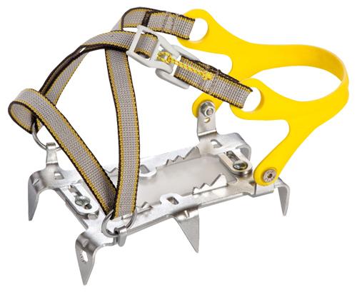 Купить Кошки Salewa Crampons COMFORT 2.0 INSTEP CRAMPON STEEL/YELLOW, альпинистские, 753776
