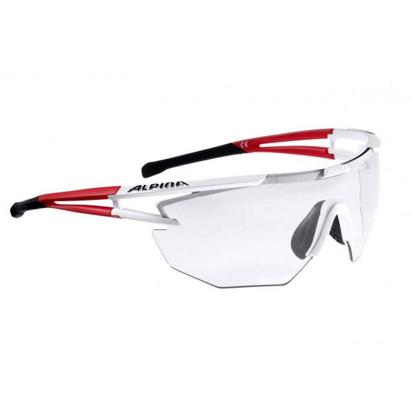 Купить Очки солнцезащитные Alpina 2018 ALPINA EYE-5 SHIELD VL+ white matt-red-black, солнцезащитные, 1254782