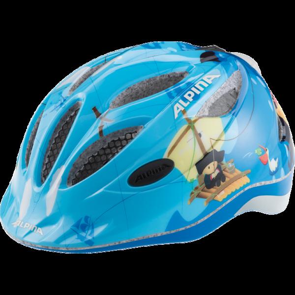 Велошлем Alpina 2018 Gamma 2.0 Flash Pirate