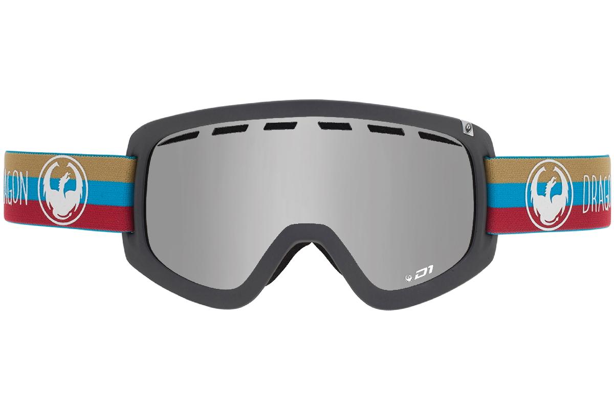 Купить Очки горнолыжные DRAGON 2015-16 D1 Layer / Mirror Ion, Yellow Red горнолыжные, 1220955