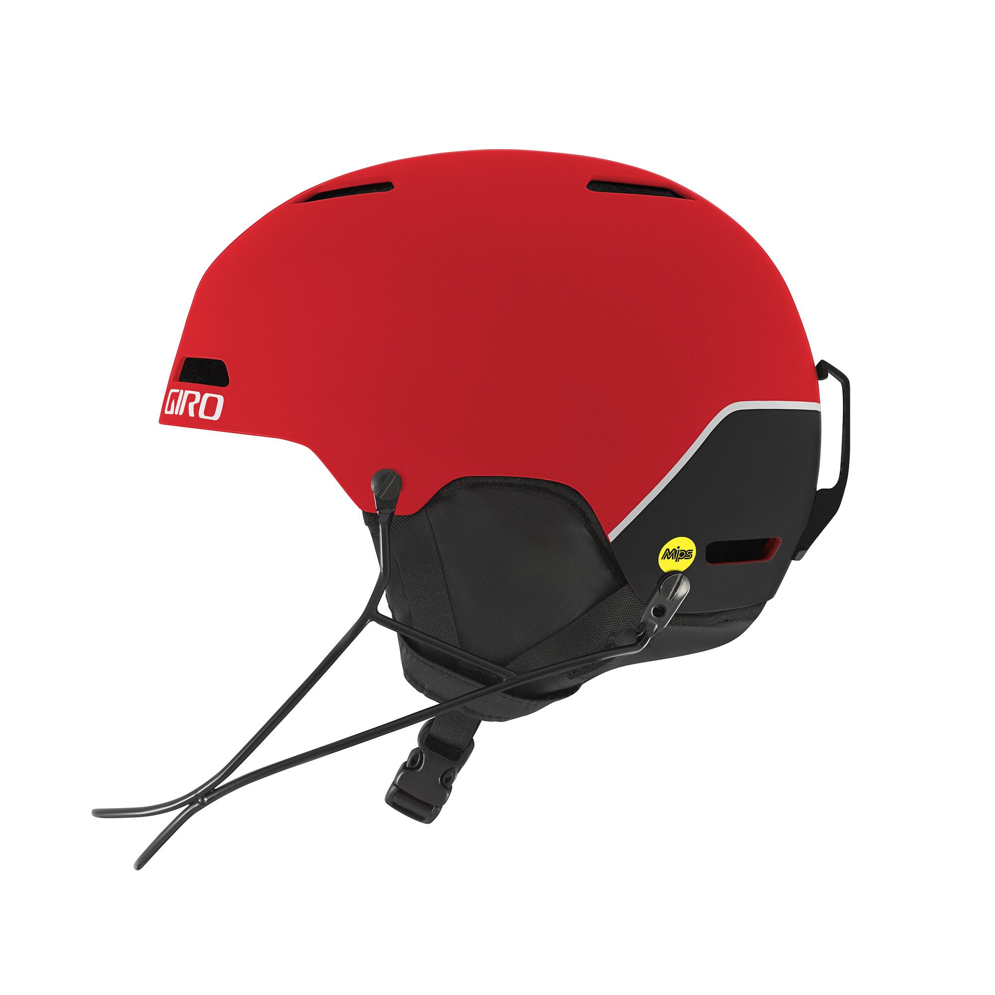 Зимний Шлем Giro 2017-18 Ledge Sl Mips Matte Red