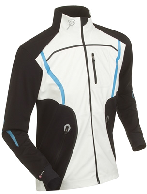 Купить Куртка беговая Bjorn Daehlie Jacket LEGEND Black/Snow White (черный/белый), Одежда лыжная, 858578