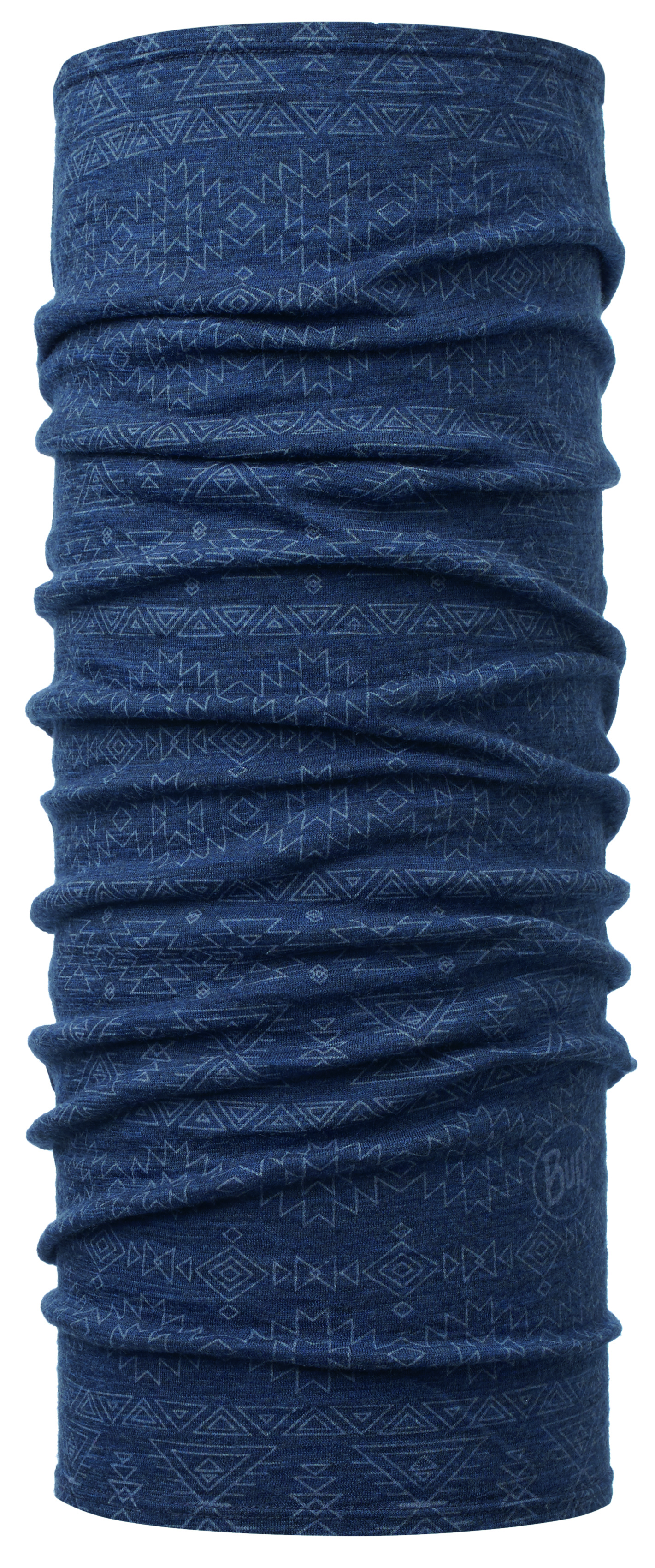 Бандана Buff Lightweight Merino Wool Edgy Denim