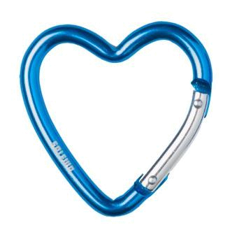 Карабин карманный Salewa Pocket Carabiners Pocket Carabiner Heart medium polar blue