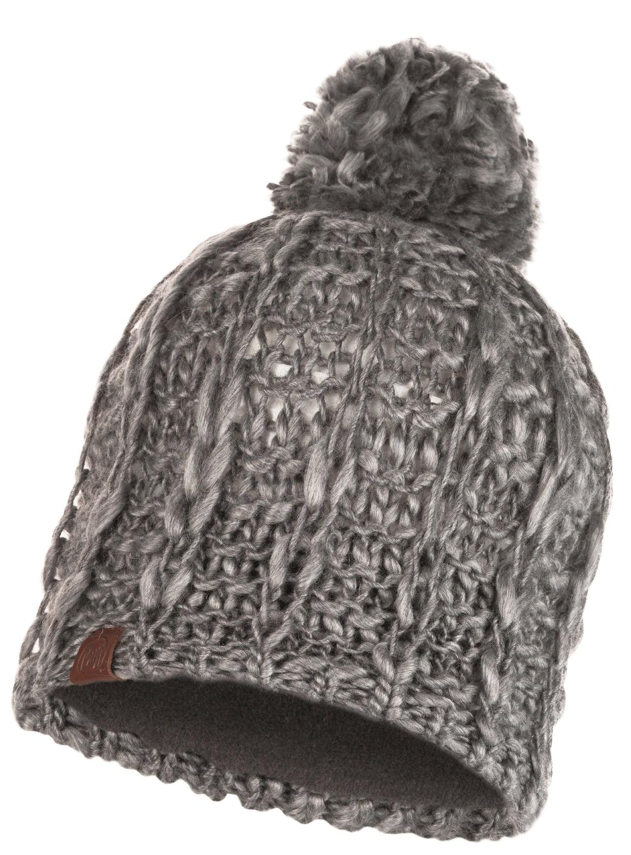 Шапка Buff Knitted & Polar Hat Liv Pebble Grey