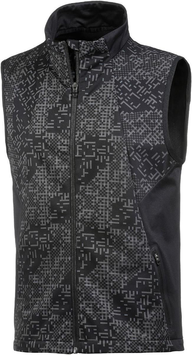 Купить Жилет Беговой Asics 2017-18 Lite-Show Vest Черный, мужской, Одежда для бега и фитнеса
