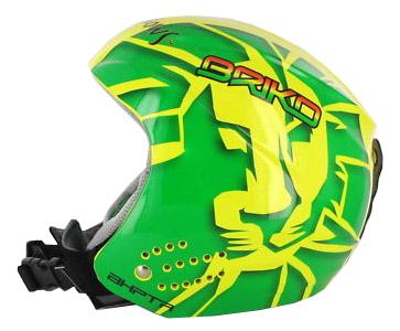 Купить Зимний Шлем Briko ROOKIE Lion yellow green, Шлемы для горных лыж/сноубордов, 700798