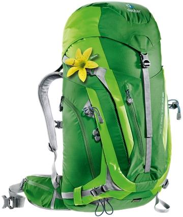 Купить Рюкзак Deuter 2016-17 ACT Trail PRO 38 SL emerald-kiwi Рюкзаки универсальные 1147356