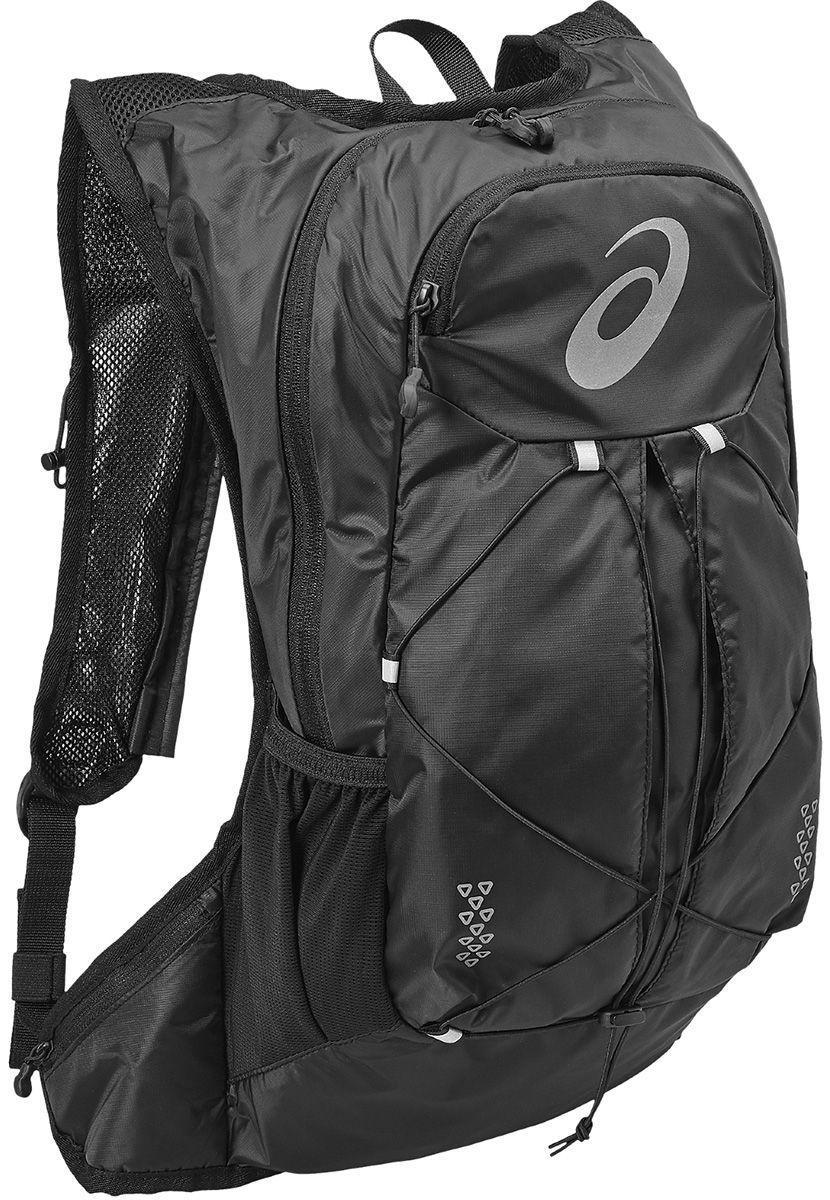 женский рюкзак asics, черный